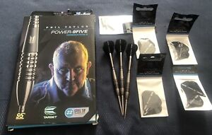 Target Phil Taylor Gen 4 Darts Fitted With Storm Points Boxed with Extras!