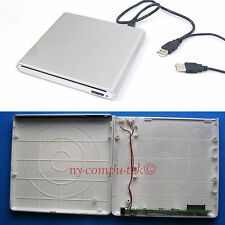 NEW!! External USB Enclosure Case for MacBook 9.5mm SATA superdrive slot in load