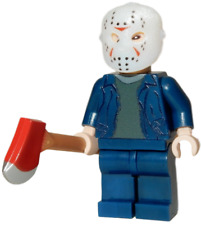 **NEW** LEGO Custom Printed JASON Friday 13th Horror Video Game Movie Minifigure