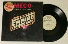 """10"""" MECO plays music from Star Wars THE EMPIRE STRIKES BACK 1980 EP PROMO Rare!"""