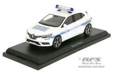 Renault Megane 2016 police police municipale France 1:43 Norev 517722