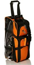 Hammer 3 Ball Bowling Bag Triple Tote with shoe pocket Orange BRAND NEW