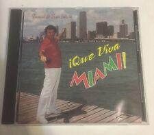 Tomas De San Julian Que Viva Miami! Music Cd. HTF And Rare