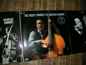 3LP The Great Concert of CHARLES MINGUS & Eric DOLPHY ´71 Vinyl from 1st owner