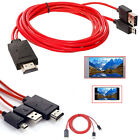Micro USB to HDMI MHL Adapter Cable+USB Charging for Samsung Galaxy S4 S3 S5 Tab