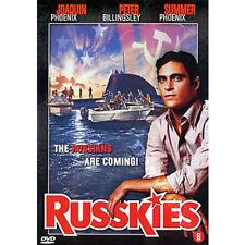 Russkies NEW PAL Cult DVD Rick Rosenthal Whip Hubley J. Phoenix P. Billingsley