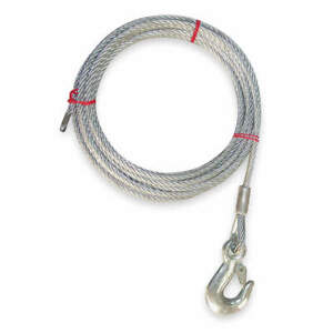 DAYTON 1DLJ1 Winch Cable,GS,5/32 In. x 25 ft.