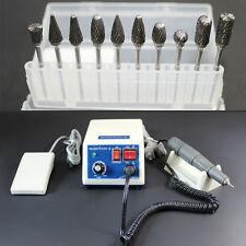 Dental Lab Marathon N7 MicroMotor Electric 35K RPM con manipolo + 10 frese