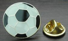 Football Soccer Ball Lapel Hat Cap Tie Pin Badge Brooch