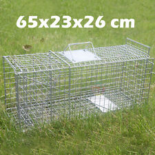 TRAP Humane Possum Feral Cat Rabbit Bird Animal Dog Hare Fox Cage Live Catch AU