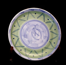"Espero / Purple Leaf by Caleca SALAD PLATE 8 1/4""  MADE IN ITALY"