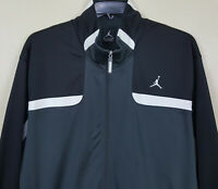 NIKE AIR JORDAN CLASSIC BASKETBALL JACKET GREY BLACK WHITE 404311-061 (SIZE 2XL)