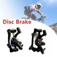 Bicycle Front Rear Caliper Mechanical Disc Brake Cycling Mountain Part MTB Bike^