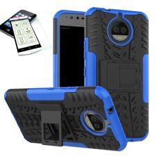 HYBRID COQUE PROTECTRICE extérieur 2 pièces Bleu pour Motorola Moto G5S PLUS +