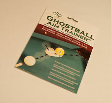NEW GHOSTBALL AIM TRAINER - ELEPHANT BALL CO - POOL TRAINING AID - GHOST BALL