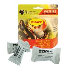 Wetfire 906 Fire Starting Tinder -12 Pack - Burns Wet Or Dry- Nontoxic