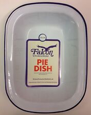 Falcon Enamel Oblong Pie Baking Dish Tin 30cm