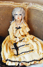 Antique FRENCH BOUDOIR Opera Madmoiselle Doll Gorgeous BEST Incredible Details