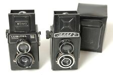 LOMO LUBITEL 166 AND LUBITEL 2 TLR 6X6CM ONE WORKS ONE FOR PARTS OR REPAIR