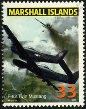 USAF NORTH AMERICAN F-82 TWIN MUSTANG Night Fighter Aircraft Airplane Mint Stamp