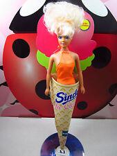 Sindy Ice Cream Doll Orange Flavor Swimsuit Hasbro Ceppiratti 90s Vintage Rare