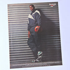 REEBOK Logo Warm-up / Advert Publicidad Reklame Ad Shawn Kemp NBA Kamikaze Shoes