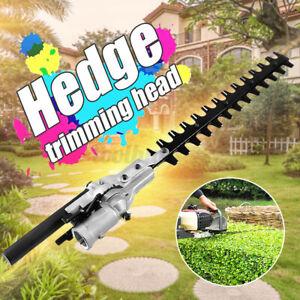 9 Teeth 17'' Pole Hedge Trimmer Trimming Head Attachment Bushes Mower Machine