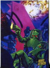 Mars Attacks Invasion Gold Stamped Parallel Base Card #80
