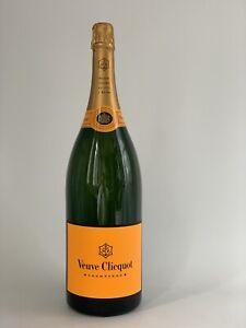 Veuve Clicquot Brut Luminous LED Champagner Jeroboam Flasche 3l 12%Vol Holzkiste