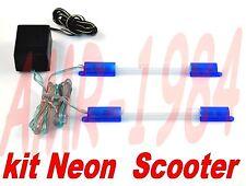 SET NEÓN AZUL PARA SCOOTER - MOTORRAD T220400 LONGITUD CM 16