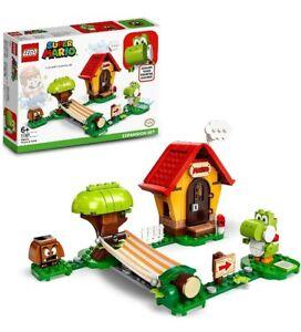 71367 LEGO Super Mario Mario's House & Yoshi Expansion Set 205 Pieces Age 6+