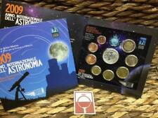 SAN MARINO - BU SET 2009 (+ €5,= ZILVER) INTERNAZIONALE ASTRONOMIA