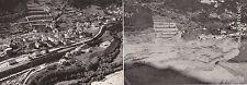 # LONGARONE - VAL DEL PIAVE DOPO IL DISASTRO DEL 1963 - CART. DOPPIA