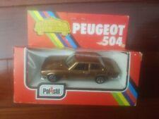 Polistil Peugeot 504 new in box ce51 car