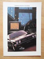 JAGUAR Navigation System Orig 1997 UK Mkt Brochure - XK8 XKR XJR XJ6