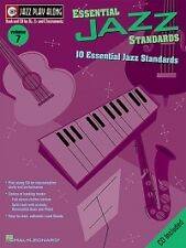 JAZZ PLAY ALONG 07 Essential Jazz Standards Bk/CD
