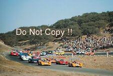 Bruce McLaren & Denis Hulme McLaren M8B Laguna Seca puede am 1969 fotografía