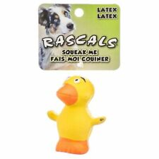 """LM Rascals Latex Duck Dog Toy 2.5"""" Long"""