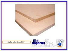 MDF Customwood 2.4m x 1.2m x 18mm - $30.00 per sheet