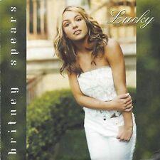 Britney Spears  – Lucky     cd single in cardboard