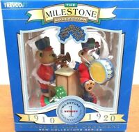 Trevco Ornament The Milestone Collection A Page in Time 1910 1920 Bears Band NOS