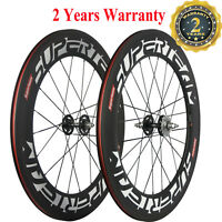 700C Track Carbon Wheelset 88mm Fixed Gear Wheels Single Bicycle Carbon Wheels