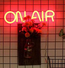 On Air Neon Sign Light Acrylic Box Lamp Studio Home Room Lamp Handcraft Artwork