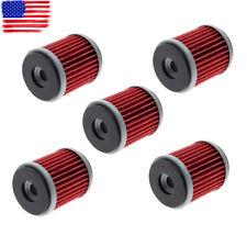 5pcs Oil Filter for HF140 Yamaha XT250 YZ250F YZ450F 38B-E3440-00 5D3-13440-00