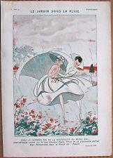 TOR Original 1923 French Vintage Art Print USA DANCER HARRY PILCER MUSIC HALL
