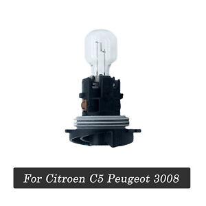 For Citroen C5 Peugeot 3008 Front Daytime Running Light Bulb With Seat 12V
