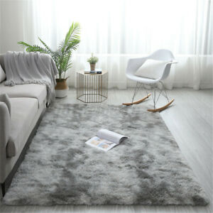 Soft Area Rugs For Bedroom 5'x7' Shag Fluffy Silky Carpet Home Decor Many Colors
