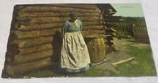 PRE-WW1 BLACK-AMERICANA POST CARD
