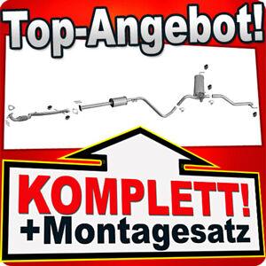 Auspuff für OPEL ASTRA J 1.4 87/101PS Kombi +Rohr Vorne Auspuffanlage