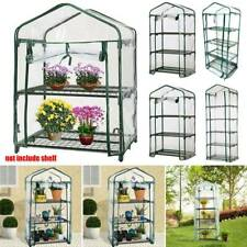 2/3/4/5 Layer Greenhouse PVC Outdoor Indoor Garden Steel Frame Plants Grow House
